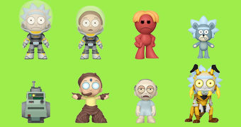 Rick and Morty Mystery Minis 4º Temporada – Mini-Figuras Funko Blind-Box