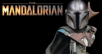 Busto The Mandalorian Legends in 3D em Escala 1:2 (Disney+ Star Wars)