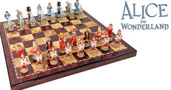 Xadrez Alice no País das Maravilhas de Lewis Carroll