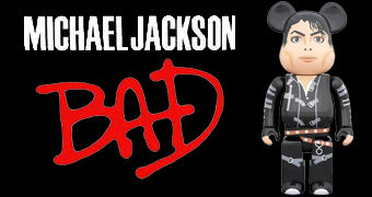 Michael Jackson BAD Be@rbrick (100% & 400%)