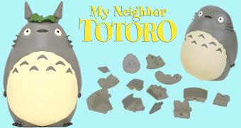 Quebra-Cabeça 3D Meu Amigo Totoro: O Espírito da Floresta (Hayao Miyazaki)