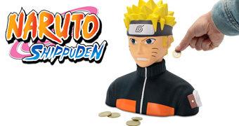 Cofre de Moedas Naruto Shippuden