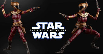 "Zorii Bliss Action Figure 6"" Star Wars The Black Series (A Ascensão Skywalker)"