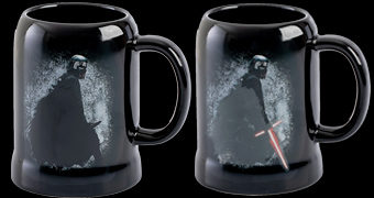 Caneca de Calor Reativa Kylo Ren Star Wars: A Ascensão Skywalker
