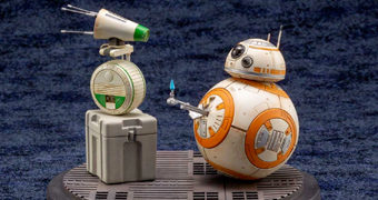 BB-8 e D-O ArtFX em Escala 1:7 Star Wars: A Ascensão Skywalker (Kotobukiya)