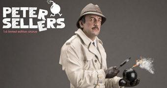 Peter Sellers como Inspetor Clouseau – Estátua Infinite A Pantera Cor-de-Rosa