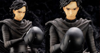 Kylo Ren ArtFX Artist Series por Kamome Shirahama – Estátua 1:7 Kotobukiya (Star Wars: The Force Awakens)