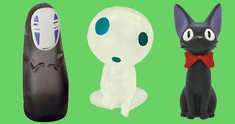 Quebra-Cabeças 3D Hayao Miyazaki: A Viagem de Chihiro, O Serviço de Entregas da Kiki e Princesa Mononoke