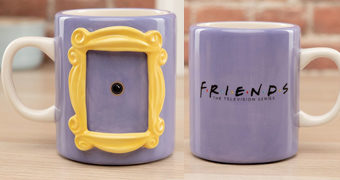 "Caneca Friends ""The One With The Photo Frame"""