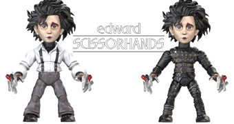 Mini-Figuras Edward Mãos de Tesoura Horror Action Vinyls (The Loyal Subjects)