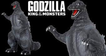 Cofre Godzilla Clássico de Corpo Inteiro