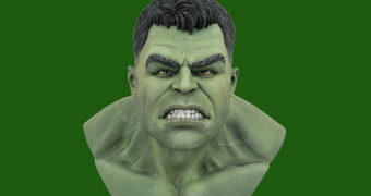 Busto Hulk Legends in 3D em Escala 1:2 (Thor: Ragnarok)