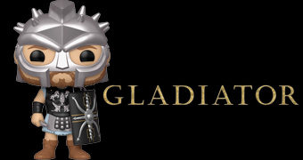 Boneco Pop! do General Romano Maximus Decimus (Russell Crowe) do Filme Gladiador de Ridley Scott
