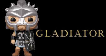 Boneco Pop! do General Romano Maximus Decimus (Russell Crowe) do Filme Gladiador de Ridley Scott