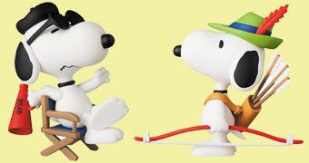 Bonecos Peanuts UDF Série 11 da Medicom Japão