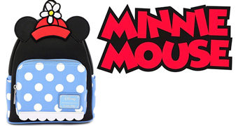 Mini-Mochila Minnie Mouse Polka Dot
