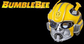 Capacete Eletrônico do Filme Transformers: Bumblebee