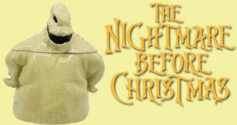 Pote de Cookies Bicho Papão Oogie Boogie de O Estranho Mundo de Jack (Nightmare Before Christmas)
