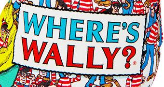 Almofada Onde está Wally? (Medicom Toy)