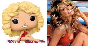 Boneca Pop! Icons da Atriz Farrah Fawcett