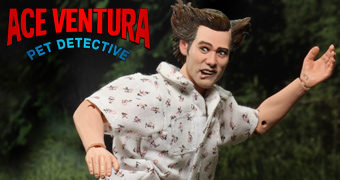Ace Ventura (Jim Carrey), o Detetive de Animais com Saia Tutu – Action Figure Retro Neca Clothed