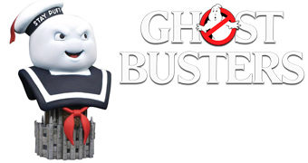 Busto Monstro de Marshmallow Stay Puft Ghostbusters Legends in 3D de Os Caça-Fantasmas