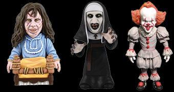 Mini-Figuras Deformadas D-Formz Filmes de Terror: Pennywise, A Freira, Annabelle e O Exorcista