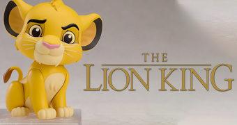 Boneco Nendoroid O Rei Leão: Jovem Simba