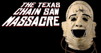 Máscara Leatherface Primeira Aparição em O Massacre da Serra Elétrica (1974)