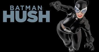 Catwoman (Mulher Gato) MAFEX – Action Figure Medicom 1:12 da Série em Quadrinhos Batman: Hush (Silêncio)