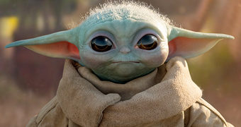 Boneco Baby Yoda em Tamanho Real da Sideshow Collectibles (Star Wars: The Mandalorian)