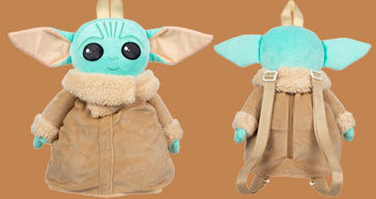 "Mochila de Pelúcia Baby Yoda ""The Child"" de Star Wars: The Mandalorian"