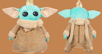 "Mochila de Pelúcia Baby Yoda ""The Child"" de Star Wars: The Mandalorian"