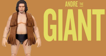 André the Giant, a Oitava Maravilha do Mundo! Action Figure Ultimate Super7