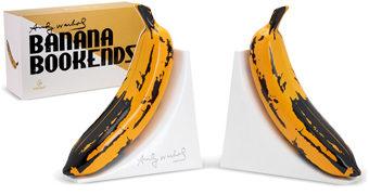 Banana Bookends por Andy Warhol (Apoios de Livros)
