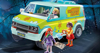 Set Playmobil Scooby-Doo Mystery Machine (Máquina Mistério)
