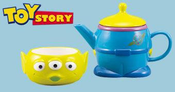 Bule de Chá Individual Toy Story Alien de Três Olhos