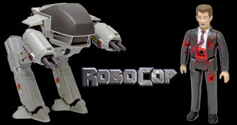 Action Figures ReAction RoboCop: ED-209 & Mr. Kinney