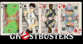 Baralho Os Caça-Fantasmas (Ghostbusters)