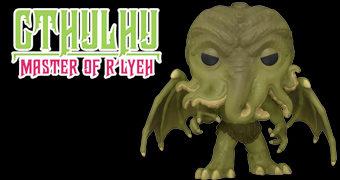 """Boneco Pop! Cthulhu de H. P. Lovecraft – Versão """"Super-Sized"""" com 25 cm de Altura"""