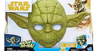 Máscara Eletrônica Mestre Yoda (Star Wars O Império Contra-Ataca)
