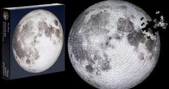Quebra-Cabeça da Lua com 1.000 Peças