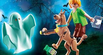 Set Playmobil Scooby-Doo com Salsicha e Scooby