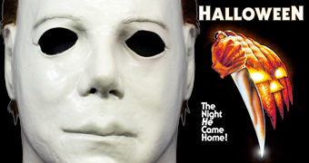 "Máscara Michael Myers ""The Boogeyman"" do Filme Halloween 1978 de John Carpenter"