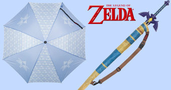 Guarda-Chuva Espada Master Sword The Legend of Zelda