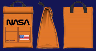 Lancheira NASA Insulated Lunch Sack