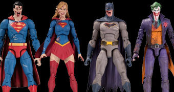 Action Figures dos Super-Heróis Zumbis da Graphic Novel DCeased