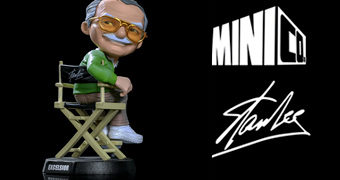 Stan Lee Mini Co. Mini Estátua do Iron Studios