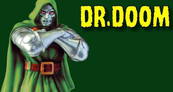 Cofre Marvel Doctor Doom (Doutor Destino)