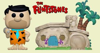 Fred Flintstone e Casa Pré-Histórica Pop! Town